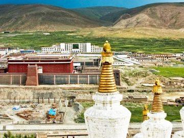 Tu viện Sakya đầu tiên của dòng Mật tông Phật giáo Tây Tạng